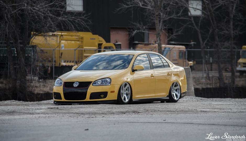 VW, GLI, fahrenheit, bagged, taxi