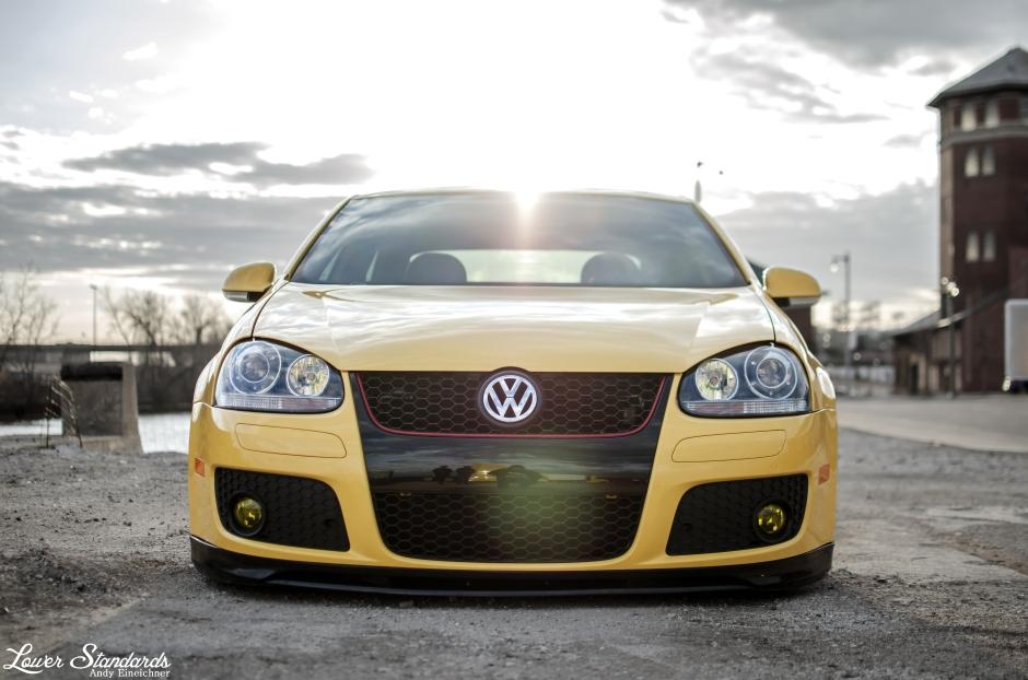 VW, GLI, mk5, taxi, bagged